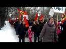 Казанская строит Храм на Торфянке. 06.02.16. Стояние на Торфянке-3.