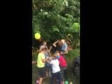 3 годика взрываем шар