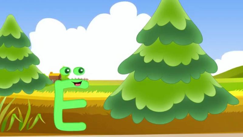 Алфавит - буквы и звуки 2. Песня для детей