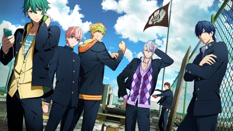 Боевой главарь банды: Девушка бьет парней.12 серия.AnigakuDub