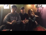 Watch the Shadowhunters cast react to an epic episode 6!