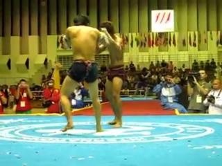 Esto si es una pelea de verdad Muay Boran...el ancestro del MuayThai