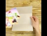 Top 5-Minute Crafts #86 Простая и красивая открытка ручной работы.