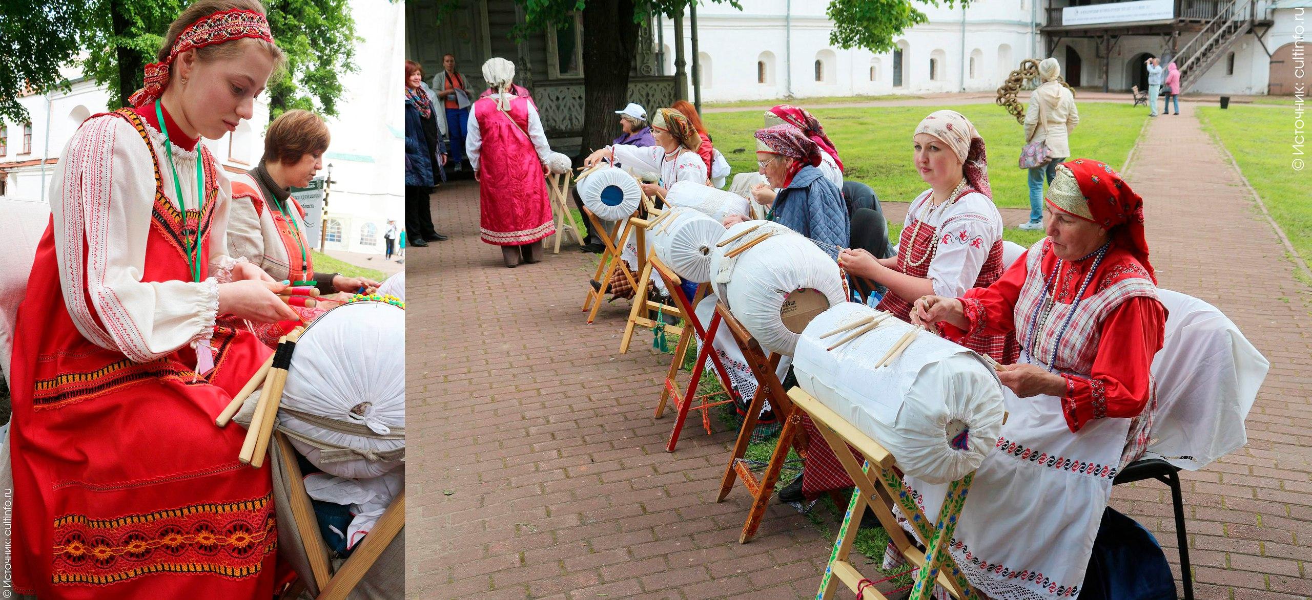 Аллея кружевниц в Вологодском кремле стала «эстетической прививкой» фестиваля «Vita Lace»