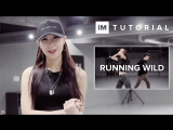 1Million dance studio Running Wild - Vanessa White | Dance Tutorial