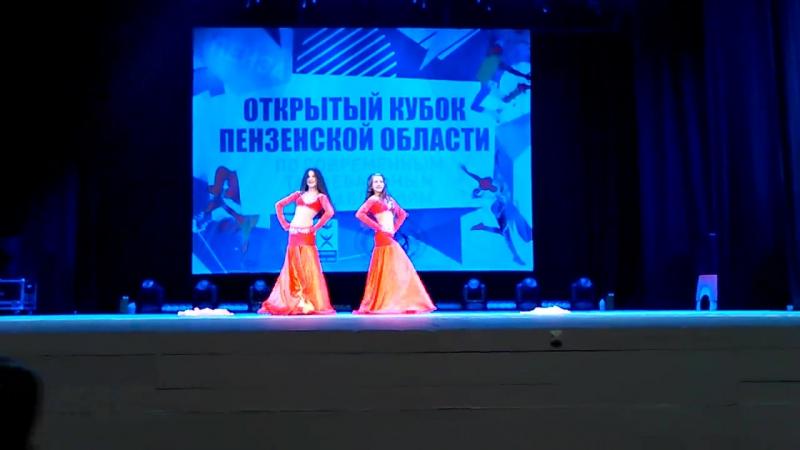 Oriental classik дуэт Никанова Дарья Сундикова Екатерина
