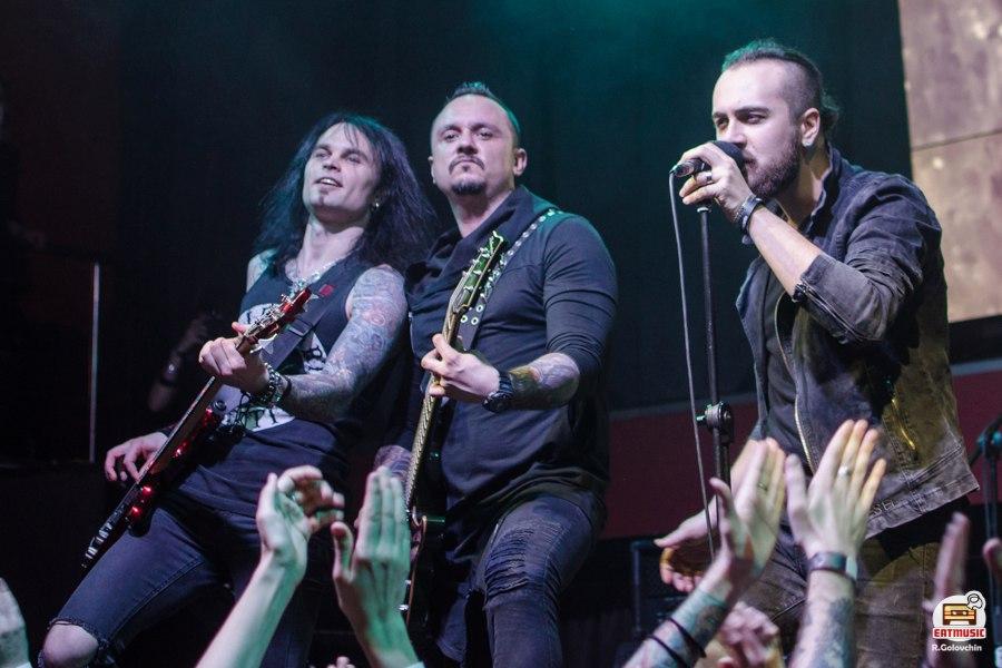 Концерт ANNODOMINI в клубе Москва 30.04.2017 репортаж, фото Роман Головчин