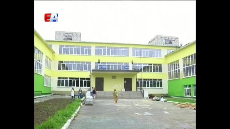 Этим летом строители проводят капитальные ремонты в пяти школах Первоуральска.