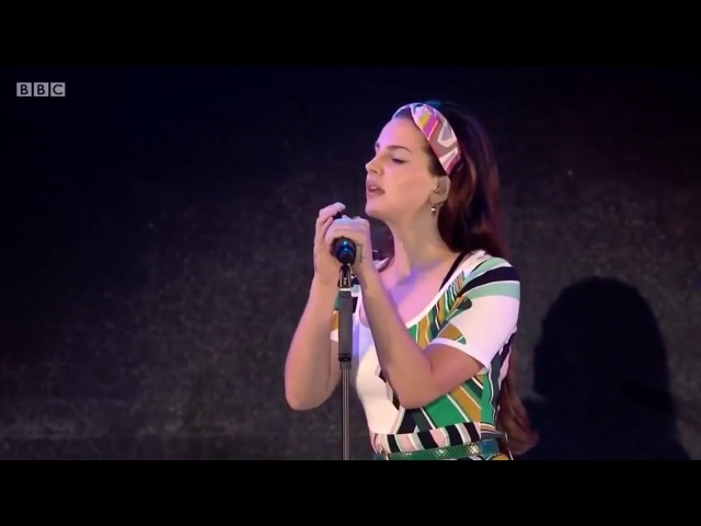 Lana Del Rey Cherry Live BBC Radio 1's Big Weekend
