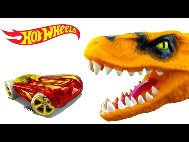 Сюрпризы и Динозавр Кинетический песок Surprises Hot Wheels and Dinosaur Kinetic sand
