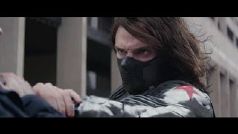 Первый мститель: Другая война / лучшие моменты / Зимний Солдат − Баки Барнс