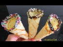 ВАФЕЛЬНЫЙ РОЖОК для мороженого без вафельницы - ICE CREAM CONE - vỏ kem ốc quế