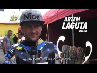 Artem Laguta's first win in SEC round