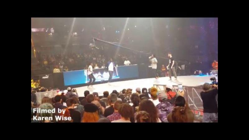 HIP HOP Quarter Final: Waydi Rochka vs Pakissi Ace | Juste Debout 2016 World Final in Paris