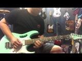 Ibanez JEMUV Steve Vai Signature Electric Guitar Sea Foam Green