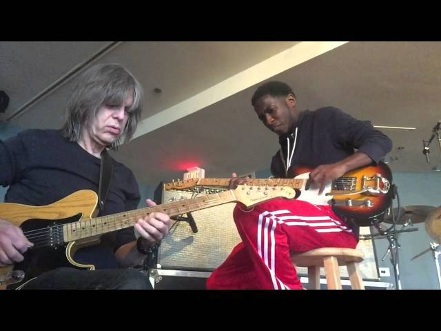 Willie Moore 3 the Guitarist Mike Stern playing Mr. P.C