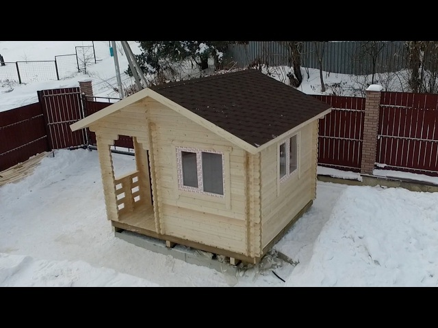 Обзор теплого дома из двойного бруса Ясень компакт [У54]