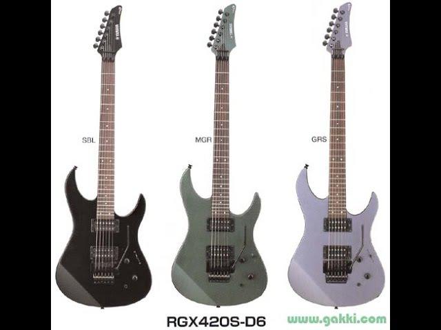 YAMAHA RGX 420S jedna z moich ulubionych gitar FILMIKI O GITARACH 209
