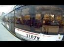 Трамвай 9 Нововоротниковский переулок Тверская Застава
