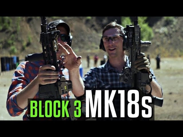Lucas Botkin and Garand Thumb on MK18s
