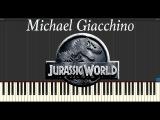 Michael Giacchino - Jurassic World (Piano Tutorial Synthesia)