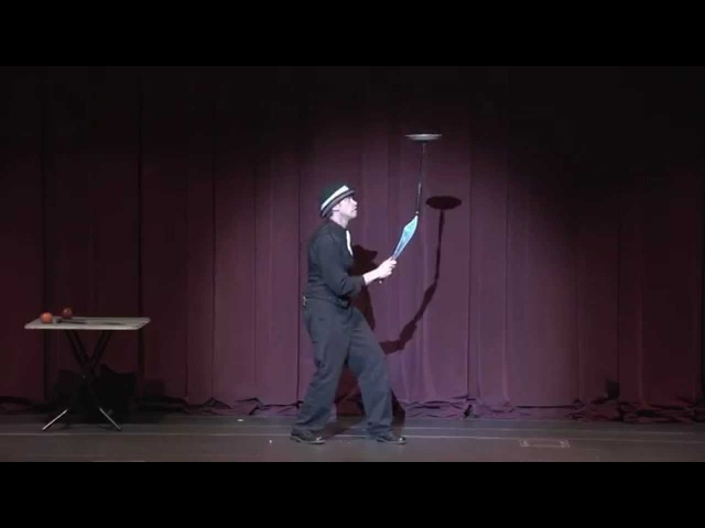 Knife Juggling Comedy