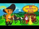 Der Gestiefelde Kater Gute Nacht Geschichte | Märchen für Kinder | Animation HD auf Deutsch