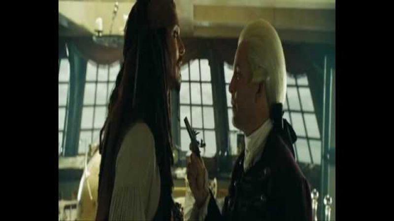 Kapitan Jack Sparrow Lord Cutler Beckett My Number One
