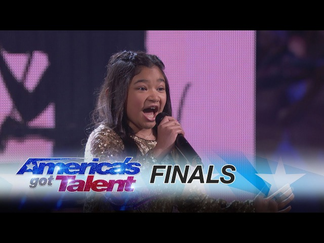 Angelica Hale: 10-Year-Old Vocalist Stuns With Symphony - America's Got Talent 2017
