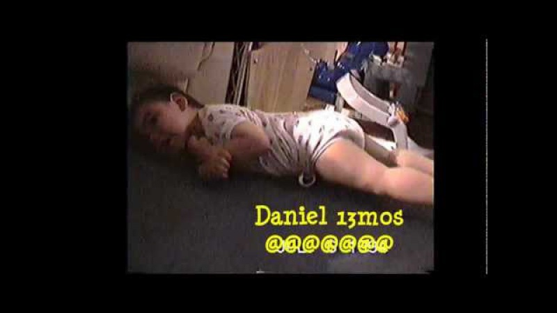 Baby Daniel on the Floor 💖 documentary of a nonverbal CP special needs child
