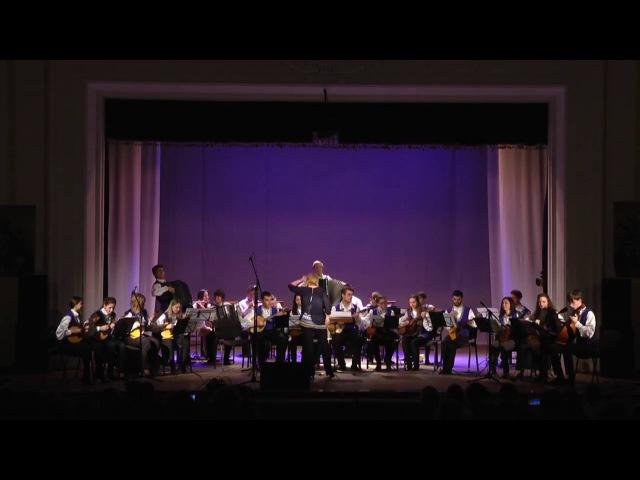 Folk music классика рока Оркестра народных инструментов Академии Матусовского