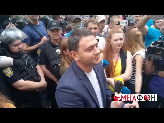 Лексус прокурора Одесской области Олега Жученко