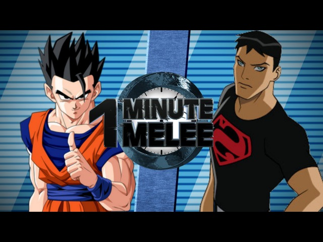 One Minute Melee S5 EP1 - Gohan vs SuperBoy (DBZ vs DC)