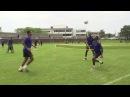 Roma Football Tennis Cup Четвертьфинал 2 Juan Jesus Gerson v Sadiq Keba