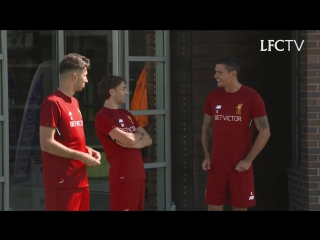 Inside Training [08.07.17] — First Salah's day at Melwood