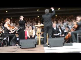 Моя РОССИЯ исполняет сводный хор, солистка Екатерина Бегунович, дирижер Ходош Дм(3)