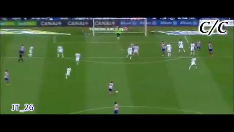 Пушечный выстрел Габи Атлетико Мадрид topbet pro.360