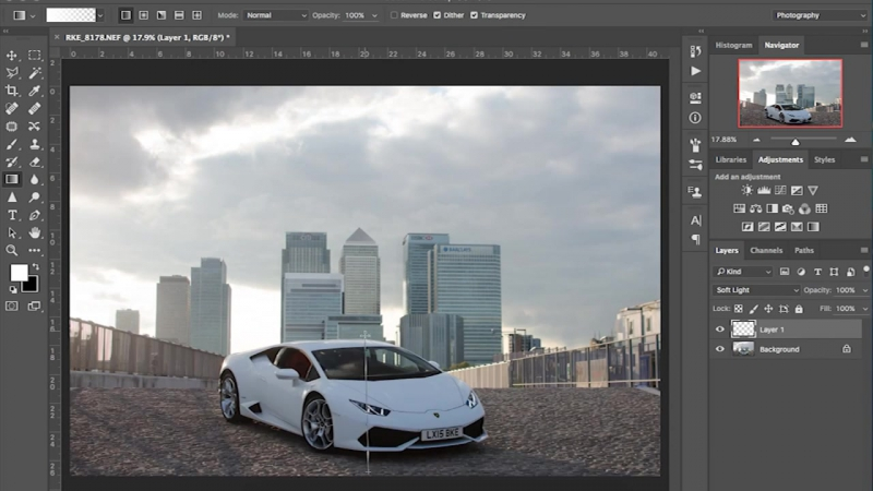 Lamborghini Huracan Automotive Speed Edit Canary Warf