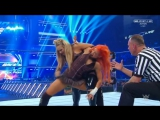 WWE.Smackdown.Live.2017.05.09. Natalya (wCarmella, James Ellsworth Tamina) vs. Becky Lynch (wCharlotte Flair Naomi)