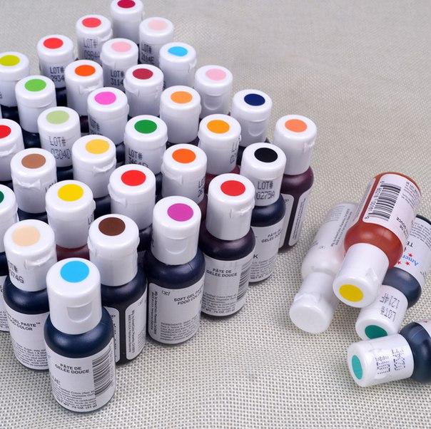 Качественные пищевые красители! 🤗 https://ru.aliexpress.com/store/product/1pcs-America-Edible-Cream-Baking-Pigment-Food-Coloring-Fondant-Cake-Coloring-Paste-Kitchen-Accessories-41-colors/1344015_32638874140.html?detailNewVersion=&categoryId=100003043