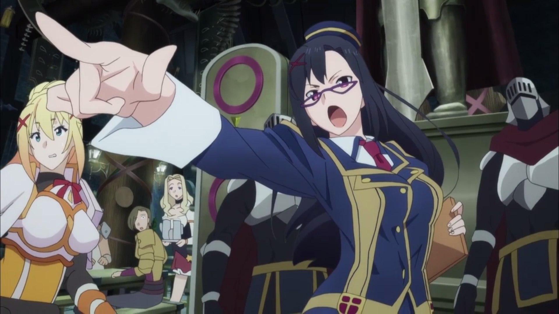 Аниме Этот замечательный мир, 2 сезон / Kono Subarashii Sekai ni Shukufuku wo 2 season