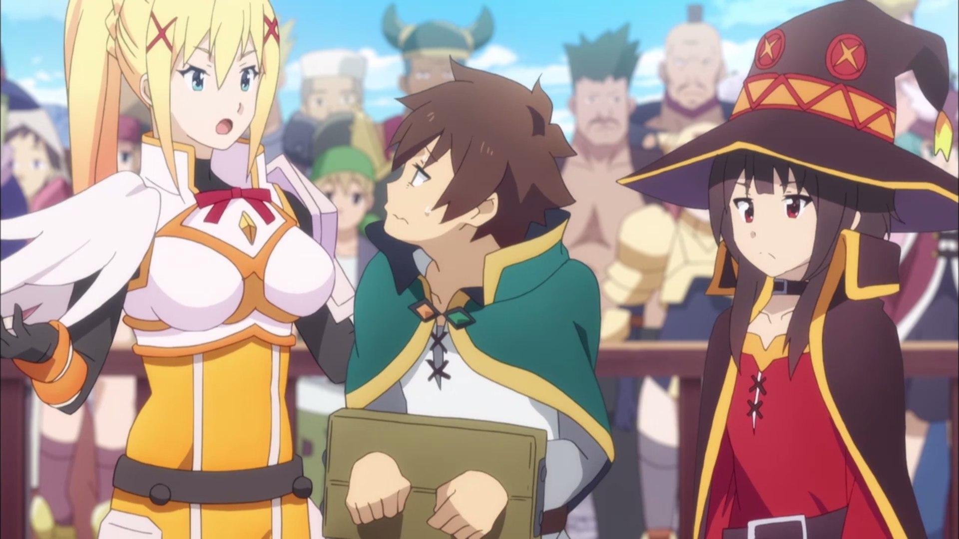Смотреть Этот замечательный мир, 2 сезон / Kono Subarashii Sekai ni Shukufuku wo 2 season