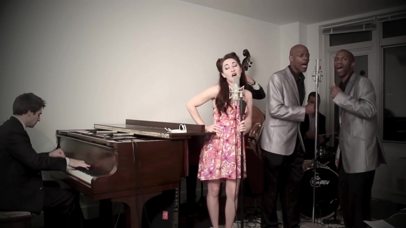 We Cant Stop - 1950s Doo Wop Miley Cyrus Cover ft. Robyn Adele Anderson, The T