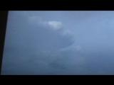 Гроза в небе над Кольцово, Новосибирская область