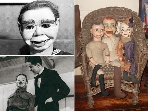 Жуткие куклы чревовещателей В конце XIX — начале XX века выступления кукольников-чревовещателей были на пике популярности. Да-да, эти артисты с жуткими куклами, на которые сейчас без страха не