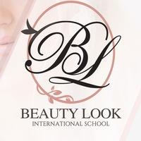 Логотип Школа BEAUTY LOOK / Обучение наращиванию ресниц