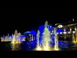 Музыкальный фонтан на Авроре г. Краснодар, ул.Красная