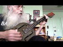 Slide Guitar Blues Lesson In Open D On My National Steel NPB12 With Insanity