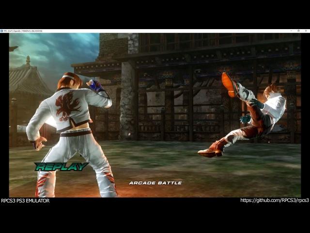 RPCS3 PS3 Emulator - Tekken 6 Ingame! OGL (c729d6d6 WIP)