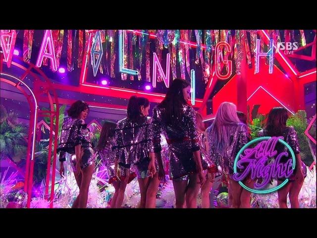 《Comeback Special》 GIRLS GENERATION(소녀시대) - All Night @인기가요 Inkigayo 20170813
